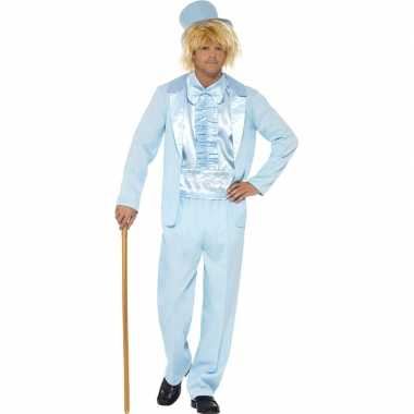 Blauw verkleedpak dumb and dumber heren