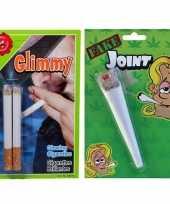 Fun fop pakket nep sigaret joint